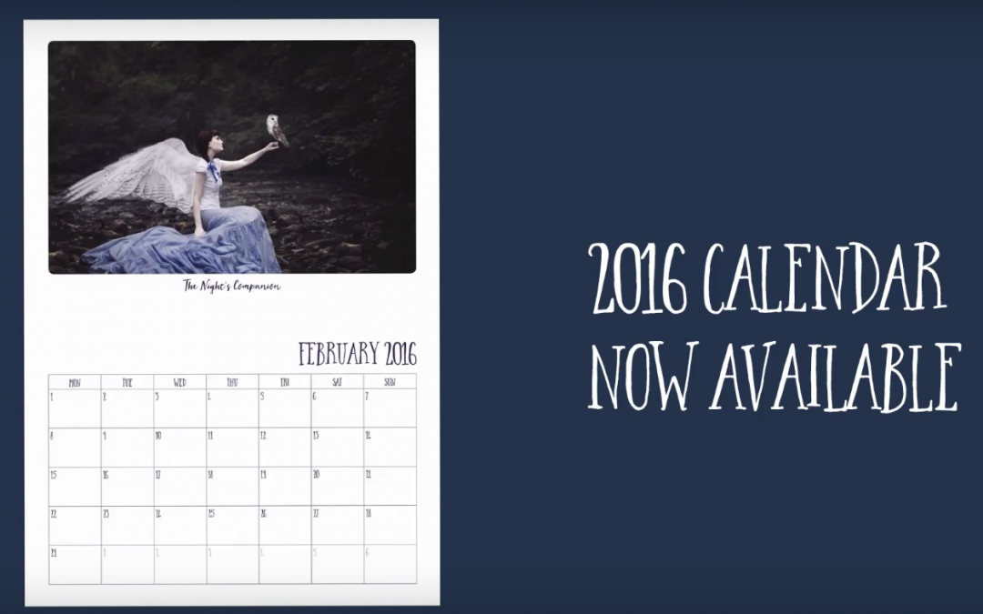 Take a closer look at the 2016 Calendar